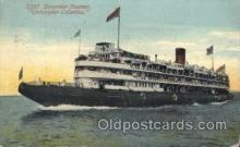 shi058161 - Christopher Columbus Steamer, Steamers, Ship, Ships Postcard Postcards