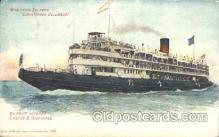shi058163 - Christopher Columbus Steamer, Steamers, Ship, Ships Postcard Postcards