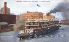 shi058164 - Christopher Columbus Steamer, Steamers, Ship, Ships Postcard Postcards