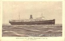 shi058170 - S.S. Alleghany Steamer, Steamers, Ship, Ships Postcard Postcards