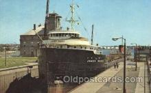 shi058198 - James Norris, The Soo Ste. Marie, Michigan, USA Steamer, Steamers, Ship, Ships Postcard Postcards