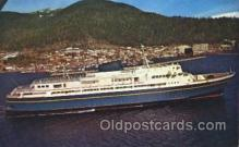 shi058199 - The Alaska Marine Highway Steamer, Steamers, Ship, Ships Postcard Postcards