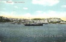 shi058210 - Tanger Vista Panoramica Steamer, Steamers, Ship, Ships Postcard Postcards