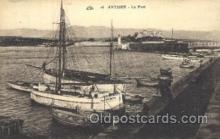 shi058214 - Antibes - Le Port Steamer, Steamers, Ship, Ships Postcard Postcards