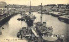 shi058224 - Brest, The War Harbor Steamer, Steamers, Ship, Ships Postcard Postcards