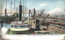 shi058226 - Toledo & Hawking Valley Coal Docks, Teledo Ohio, USA Steamer, Steamers, Ship, Ships Postcard Postcards