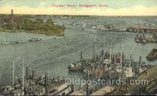 shi058228 - Harbor View Bridgeport, Conn, USA Steamer, Steamers, Ship, Ships Postcard Postcards