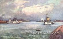 shi058231 - Oregon, Portland, Harbor, USA Steamer, Steamers, Ship, Ships Postcard Postcards