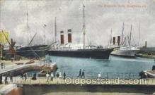 shi058233 - The Empress Dock Southhampton Steamer, Steamers, Ship, Ships Postcard Postcards