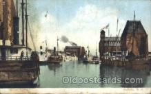 shi058238 - Harbor, Buffalo, New York USA Steamer, Steamers, Ship, Ships Postcard Postcards