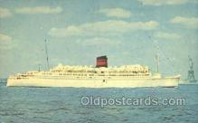 shi058241 - Queen Of Bermuda Ship Postcard Postcards