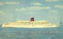 shi058242 - Queen Of Bermuda Ship Postcard Postcards