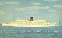shi058243 - Queen Of Bermuda Ship Postcard Postcards
