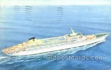 shi058248 - SS Oceanic Home Lines Ship Postcard Postcards