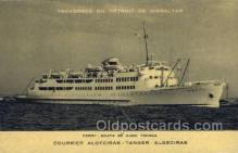 shi058249 - Courrier Algeciras Ship Postcard Postcards