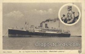 shi058251 - Marechal Lyautey Ship Postcard Postcards