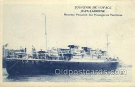 shi058255 - Jean Lamborde Ship Postcard Postcards