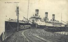 shi058256 - Gallia Ship Postcard Postcards