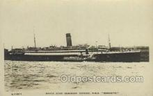 shi058262 - Megantic White Star Line, Ship Postcard Postcards