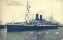 shi058266 - Angkor Ship Postcard Postcards