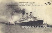 shi058268 - SS Lutetia Ship Postcard Postcards