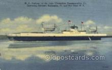 shi058276 - MV Valcour Ship Postcard Postcards