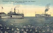 shi058277 - Steamers Favorite and Manatee Ship Postcard Postcards