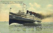 shi058280 - City Of Cleveland Ship Postcard Postcards