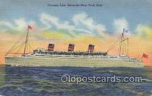 shi058282 - Bermuda New York Boat Ship Postcard Postcards