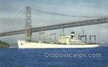 shi058284 - SS American Transport Ship Postcard Postcards