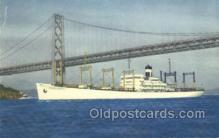 shi058285 - SS American Transport Ship Postcard Postcards