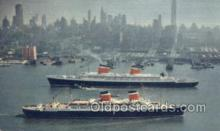 shi058291 - SS United States And SS America Ship Postcard Postcards