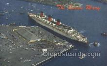 shi058292 - The Queen Mary Ship Postcard Postcards