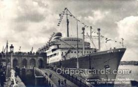 shi058294 - Santa Maria Ship Postcard Postcards