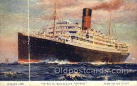 shi058295 - Scythia Ship Postcard Postcards