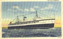 shi058298 - The City Of Midland Ship Postcard Postcards