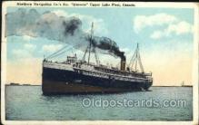 shi058304 - Huronic Ship Postcard Postcards