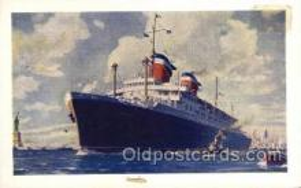 shi058307 - SS American  Ship Postcard Postcards