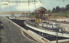 shi058319 - Government Dry Dock Victoria Can Ship Postcard Postcards