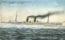 shi058323 - Steamer Yale Ship Postcard Postcards