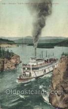 shi058324 - White Horse Ship Postcard Postcards