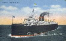 shi058332 - Ann Arbor No 7 Ship Postcard Postcards