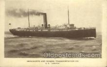 shi058333 - SS Juniata Ship Postcard Postcards