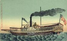 shi058337 - Steam Boat On Lake Champlain Ship Postcard Postcards