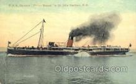 shi058338 - DAR Steamer Prince Rupert Ship Postcard Postcards