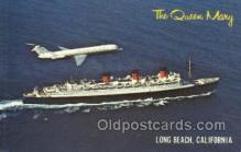 shi058353 - The Queen Mary Ship Postcard Postcards