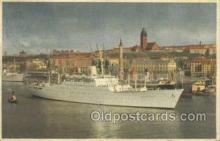 shi058366 - MS Stockholm Ship Postcard Postcards