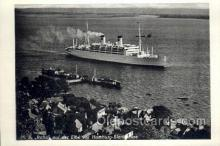 shi058376 - MS Italia Enlarged Continental Size Ship, Ships, Ocean Liner Postcard Postcards