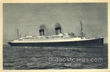 shi058385 - Ile De France, French Line Enlarged Continental Size Ship, Ships, OceanLiner Postcard Postcards