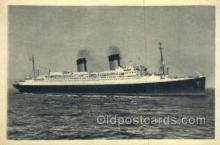 shi058386 - Ile De France, French Line Enlarged Continental Size Ship, Ships, OceanLiner Postcard Postcards